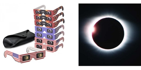 8 Pack Solar Eclipse Observing Glasses $10 + Free Shipping @ Walmart
