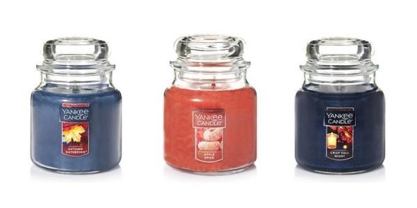 Buy 1, Get 2 Free Medium Jar Candles @ Yankee Candle