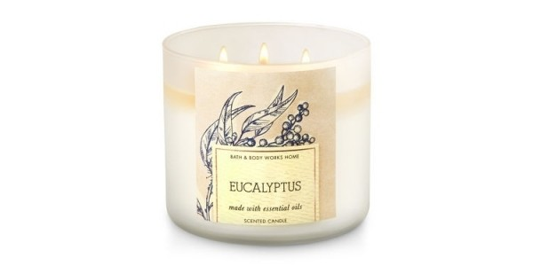 Free 3-Wick Eucalyptus Candle w/ Purchase + Free Shipping Today Only @ Bath & Body Works