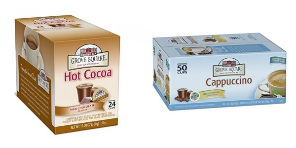 Glitch?! Cappucino And Hot Chocolate K-Cups Just $0.10 Each @ Amazon