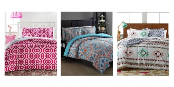3-Piece Reversible Comforter Sets Just $18 @ Macy's