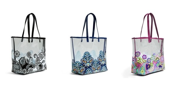 Vera Bradley Clearly Colorful Tote Bags Just $18 Shipped (regularly $60) @ Vera Bradley Official eBay