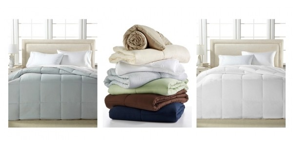 Royal Luxe Microfiber Down Alternative Comforters (Any Size) Just $30 Shipped @ Macy's