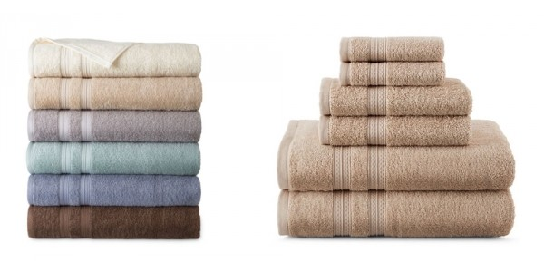 Home Expressions Bath Towels $2.25 + Free In-Store Pickup (Reg. $10) @ JC Penney