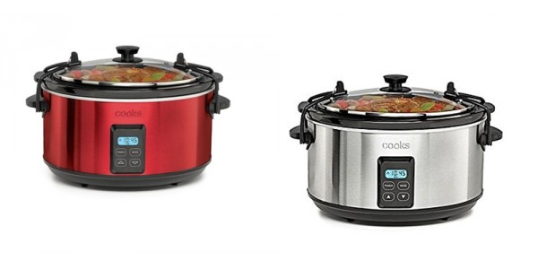 5 Quart Programmable Latch & Travel Slow Cooker $15 @ JC Penney