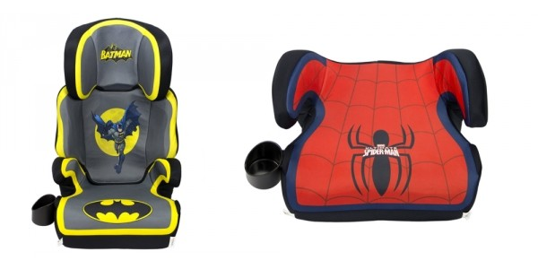 Superhero Booster Seat $22 Or High Back Car Seat $55 @ Amazon