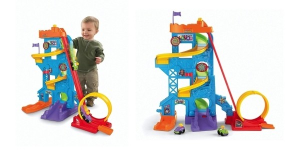 Fisher-Price Little People Loops 'n Swoops Amusement Park Play Set $25 @ Amazon