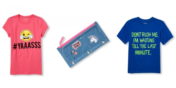 Up To 70% Off Kids Clearance = T-Shirts & Pencil Cases $3 + Free Shipping @ Children's Place