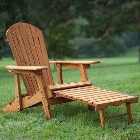Adirondack Chair w/ Ottoman $79.98