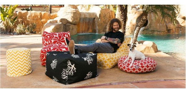 Outdoor Bean Bag Chair Lounger $86 + Free Shipping (Reg. $195) @ Hayneedle