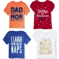 All T-Shirts $2.99 @ Children's Place