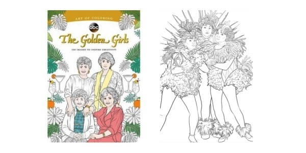 The Golden Girls Coloring Book Just $11 w/ Free Store Pickup @ Walmart