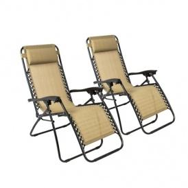 Zero Gravity Patio Chairs Just $25 Each!