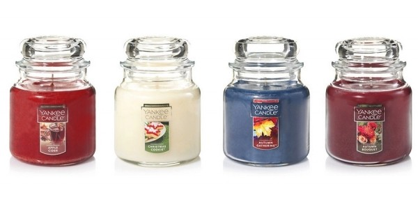 Today Only: Medium Classic Jar Candles Just $11 Each & Buy 2, Get 1 Free On All Candles @ Yankee Candle