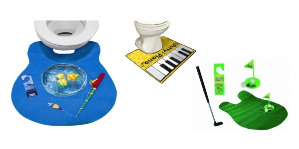 Potty Fisher Toilet Fishing Game $10 & More Toilet Games @ Amazon