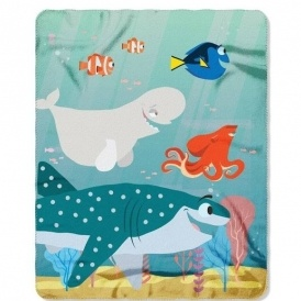 Finding Dory Fleece Throw $6 @ Kmart