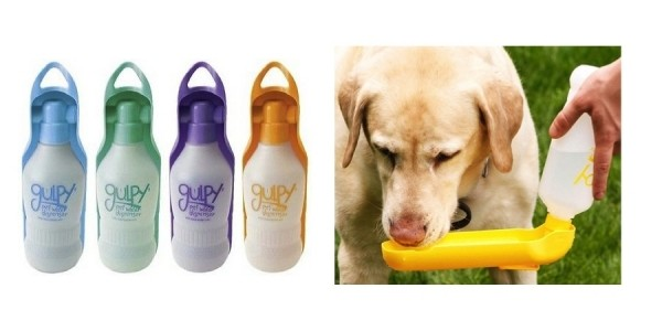Gulpy H2O to Go Portable Dog Water Bottles Just $6.99 @ Chewy