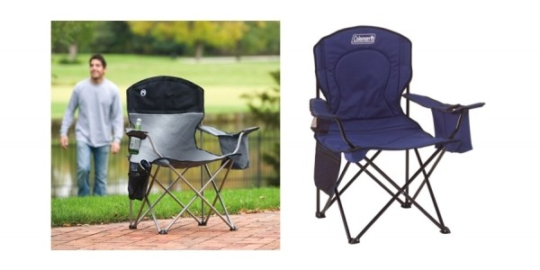 Coleman Oversized Chair With Built-In Cooler Just $15 (reg. $37) @ Amazon