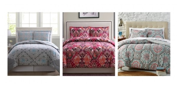 3-Piece Reversible Comforter Sets Just $16.99 (reg. $80) Today Only @ Macy's