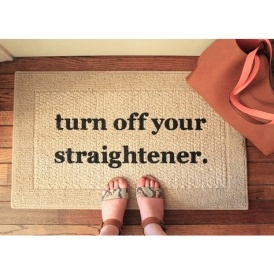Turn Off Your Straightener Mat $11 Shipped