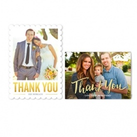 12 Custom Thank You Cards Just Pay Shipping