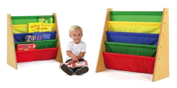 Tot Tutors Kids Book Rack Storage Bookshelf just $14 @ Amazon