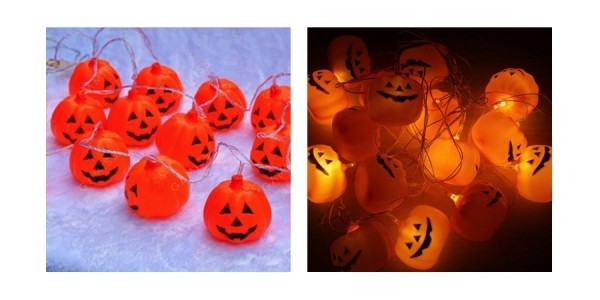 Halloween Pumpkin String Lights Just $4.99 Shipped w/ Code & More @ Gamiss