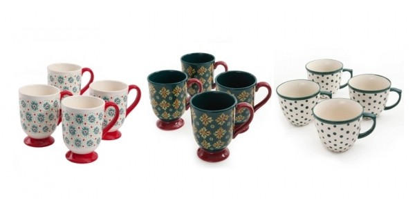 Pioneer Woman Clearance! Set of 4 Mugs (Various Designs) Now Just $8.88 & More @ Walmart