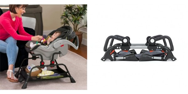 Folding Car Seat Station With Vibration $35 + Free Shipping @ Bed Bath & Beyond