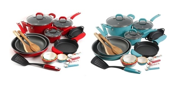 The Pioneer Woman Vintage Speckle 24-Piece Cookware Set $99.97 (Reg. $159) @ Walmart