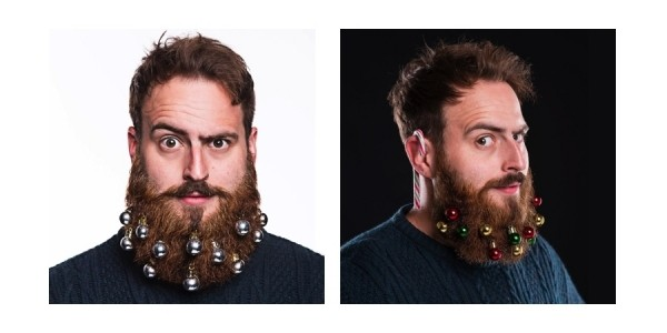 Beardo Beard Ornaments $10 @ Amazon