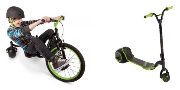 50% Off Huffy Green Machines! Drift Trikes Just $39 And Scooters $25 @ Walmart