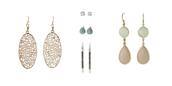 2 Pairs (or 2 Sets) of Earrings for $14 Shipped Today Only @ Cents of Style