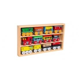 Wooden Train Set JUST $19.99