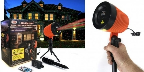 Buy One, Get One Free Laser Projection Lights (2 for $19.99!) w/ Code @ Staples