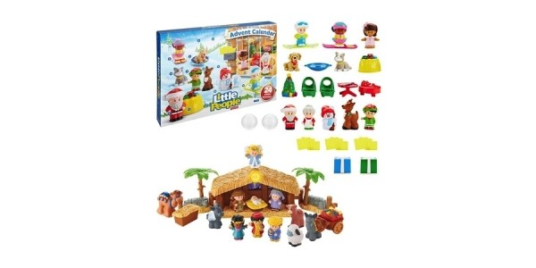 Fisher-Price Little People Christmas Story Gift Set Advent Calendar & Nativity Set $50 @ Fisher-Price