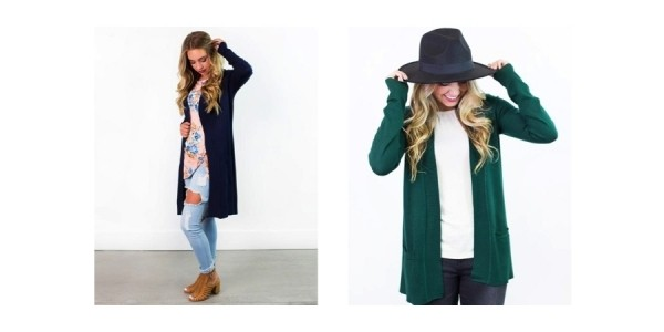 40% Off Fall Cardigans w/ Code @ Cents of Style