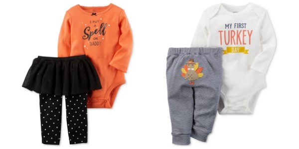 Carter's Halloween And Thanksgiving Apparel From $3.49 @ Macy's