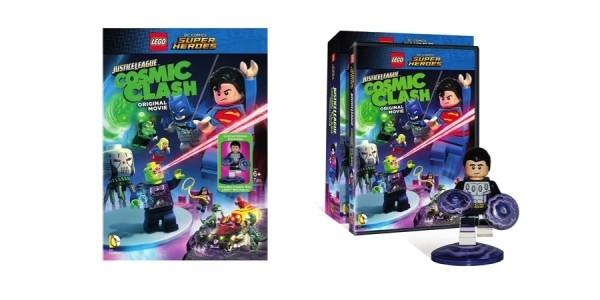 LEGO DC Comics Super Heroes Justice League Blu-ray Combo Pack w/ Ltd. Ed. Minifigure $8 @ Walmart