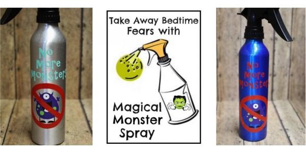No More Bedtime Monsters Room Sprayer $5 @ Etsy