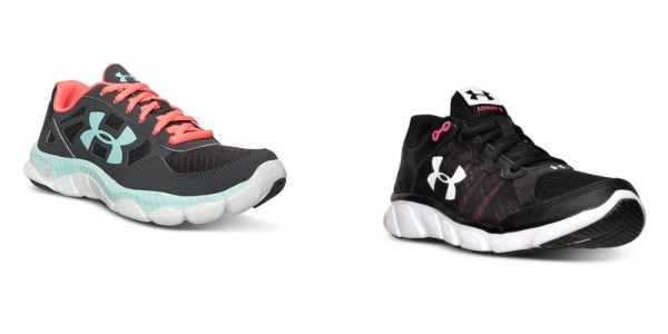 Women's Under Armour Athletic Shoes Only $37 (Reg. $80) @ Macy's