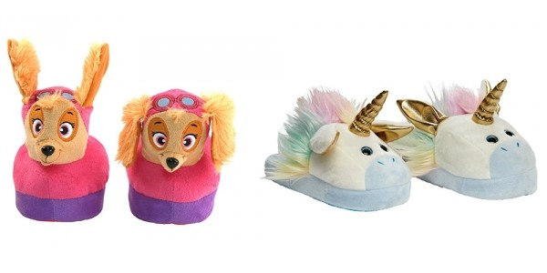 Animated Unicorn, Paw Patrol, Shopkins, + More Character Stompeez Slippers From $17 @ Amazon