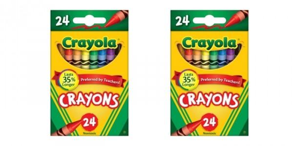24-Pack Crayola Classic Color Crayons $0.50 @ Walmart