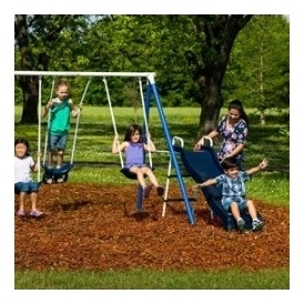 Flexible Flyer Swingset $99 @ Walmart