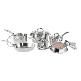Stainless Steel Cookware Set $119.99