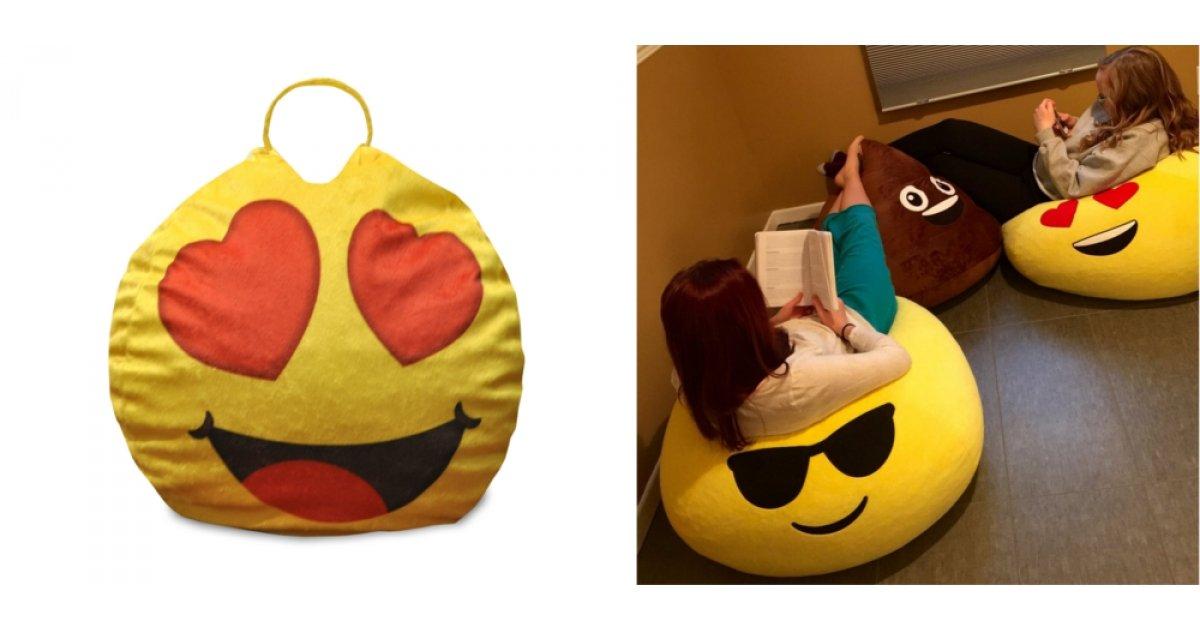 Emoji Pals Bean Bag Chairs 5 Walmart