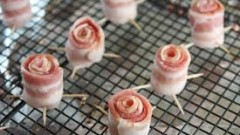 Bacon Rosettes - How To
