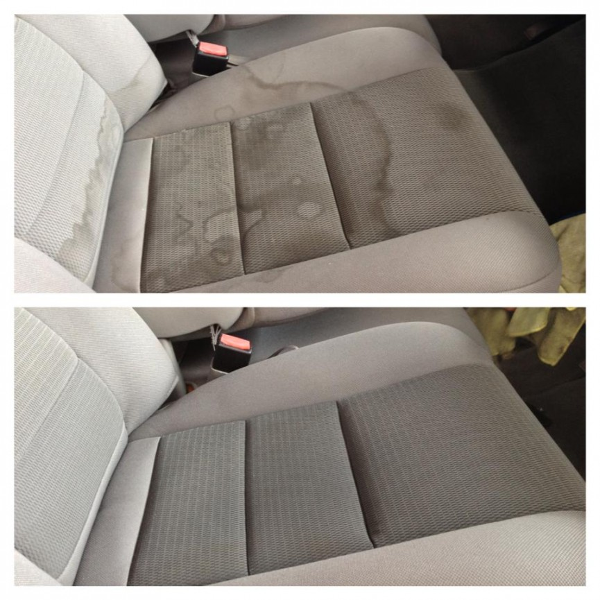 the perfect diy to clean car upholstery. Black Bedroom Furniture Sets. Home Design Ideas