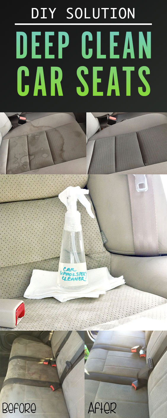 Diy Car Interior Design: The Perfect DIY To Clean Car Upholstery