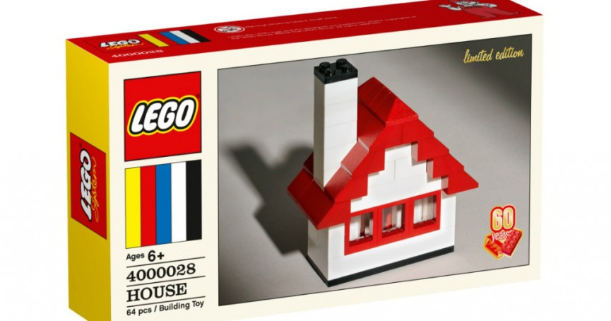 LEGO 60th Anniversary Limited Edition House Set